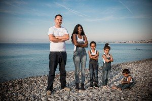 Fun family vacation photos in Cote d'Azure French Riviera by Nice photographer for TripShooter, Didier Ours