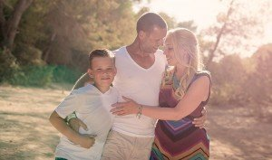 Family portrait on vacation, by TripShooter's Ibiza photographer Tamas Kooning