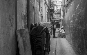Photo of travel alley by London photographer Leyla Kazim