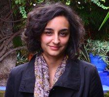 Portrait of London photographer Leyla Kazim