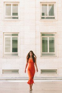 Stunning vacation photo of woman in Milan by TripShooter's Milan photographer Alessandro Della Savia