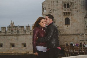 Romantic couple photo shoot in Lisbon Portugal by TripShooter's photographer in Lisbon Miguel Rodrigues
