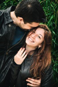 Happy couple portrait by TripShooter's Budapest photographer Oliver Sin