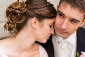 Loving couple photo portrait at destination wedding, by TripShooter's photographer in Vienna, Maria Harms