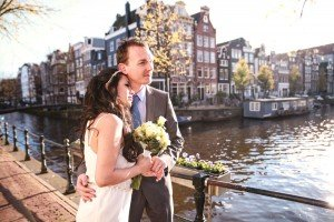 Destination wedding photos in Amsterdam by TripShooter's Photographer in Amsterdam Elise-Maria Gherlan