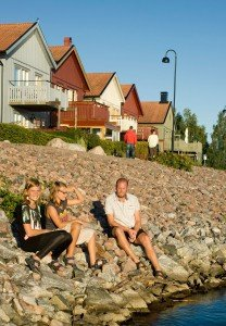 Friends travel vacation photos in Sweden by Stockholm photographer Gunta Podina