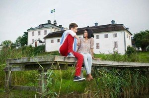 Vacation couple photos in Sweden by Stockholm photographer Gunta Podina