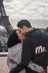 Couple photos by Paris photographer Sophia Pagan
