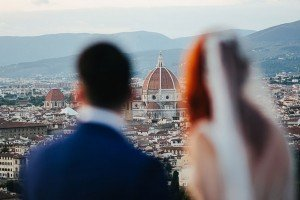 Romantic wedding photos by Florence photographer for TripShooter Laura Barbera