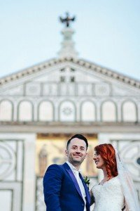 Bright and beautiful wedding photos in Italy by Florence photographer for TripShooter Laura Barbera