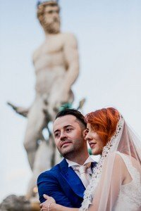 Destination wedding photos in Italy by Florence photographer for TripShooter Laura Barbera