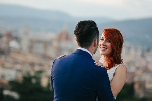 Classic and unique Italian wedding photos by talented Florence photographer for TripShooter, Laura Barbera