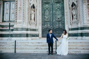 Beautiful wedding photos against Italy's backdrops by Florence photographer for TripShooter, Laura Barbera