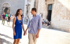 Happy fun vacation photo shoots in Dubrovnik Croatia by TripShooter's Dubrovnik photographer Nino Knezevic