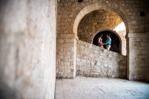 Romantic couple portraits and marriage proposal photo sessions in Dubrovnik by TripShooter's Dubrovnik photographer Nino Knezevic