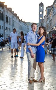 Gorgeous romantic couple photos in Europe and Croatia by TripShooter's Dubrovnik photographer Nino Knezevic