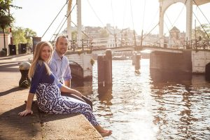 Beautiful vacation photos in Amsterdam by Amsterdam photographer Elise Gherlan