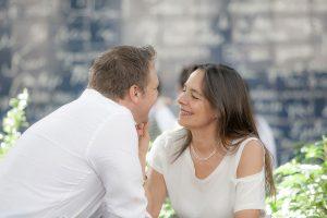 Romantic vacation photos in France by Paris photographer Gabriela Medina