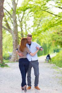 Couple photos in Ljubljana by Matej Kastelic