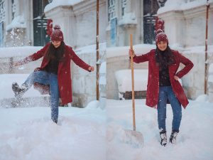 Fun photos in the snow by Istanbul photographer Mohamed Mekhamer