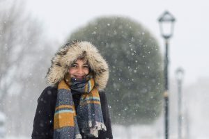 Istanbul snow portraits by Istanbul photographer Mohamed Mekhamer