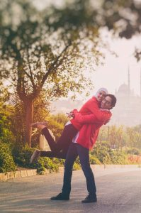 Romantic photoshoots in Turkey by Istanbul photographer Mohamed Mekhamer